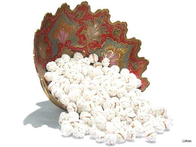 Şekerli Leblebi - Beyaz
