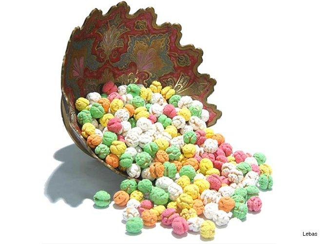 Şekerli Leblebi - Renkli
